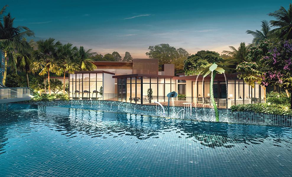 The Jovell Condo pool