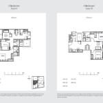 33 Residences 2br floor plan