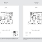 33 Residences 2br type c floor plan
