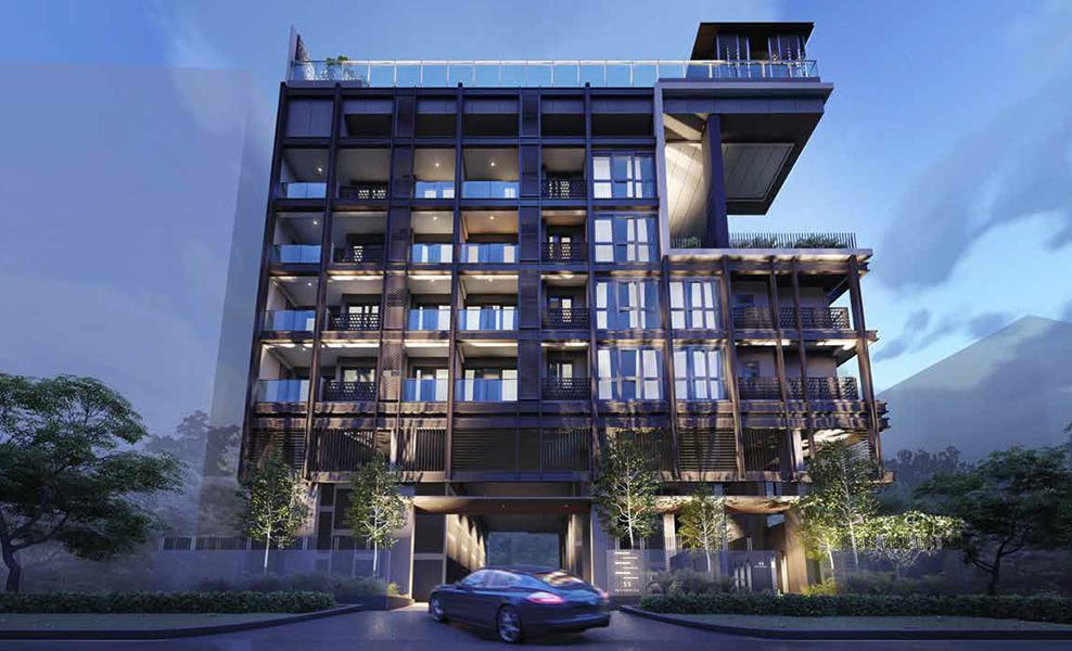 33 Residences facade