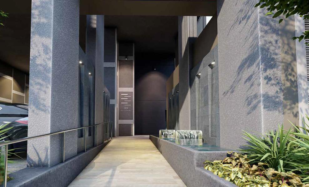 33 residence lobby