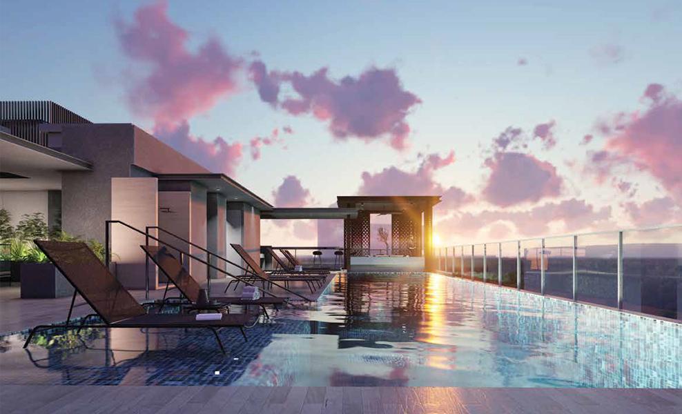 33 residences swimming