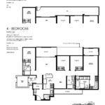 Daintree Residence Floor Plan 4 bedroom