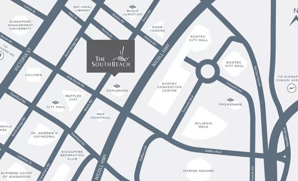 South Beach Residences Location
