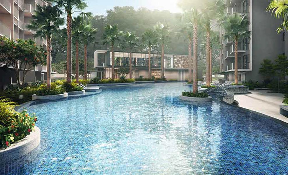 the garden residences pool