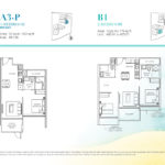 Casa Al Mare 2 Bedroom Floor Plan Type B1