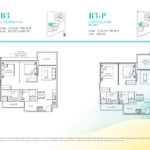 Casa Al Mare 2 Bedroom Floor-Plan-Type-B2