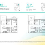 Casa Al Mare 2 Bedroom Floor-Plan-Type-B5