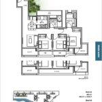 TRE VER floor plan 3 br C1