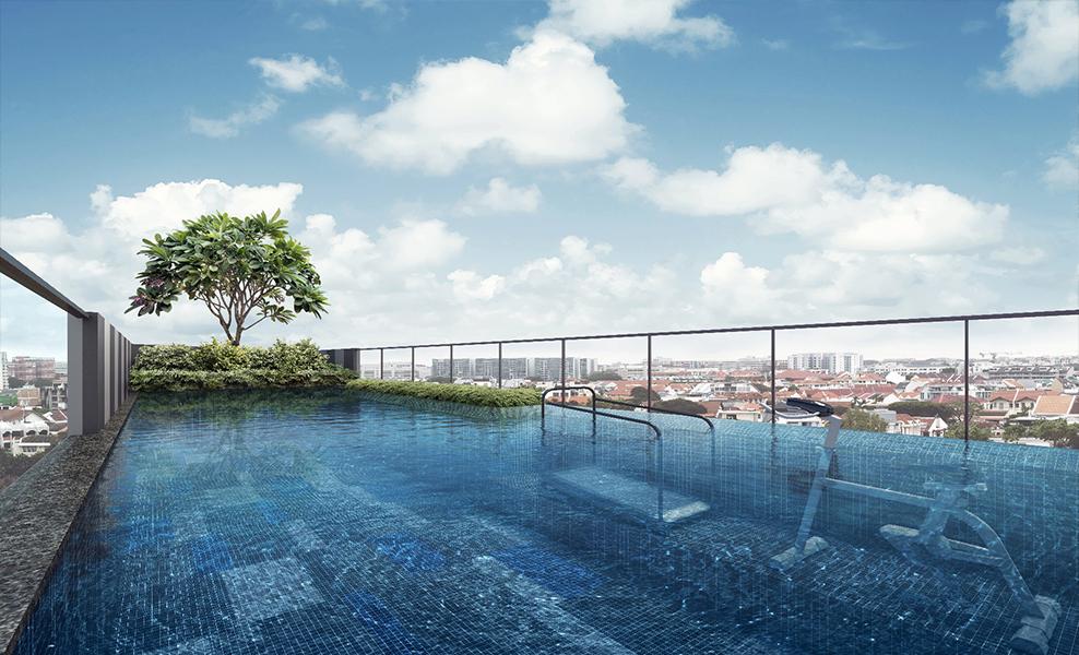 parkwood residences pool view
