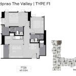 Life Ladphrao Valley Floor Plan F1