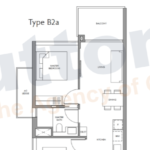Fourth Ave Residences 2BR-1