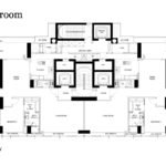 RCR Floor Plan for 3 Bedroom