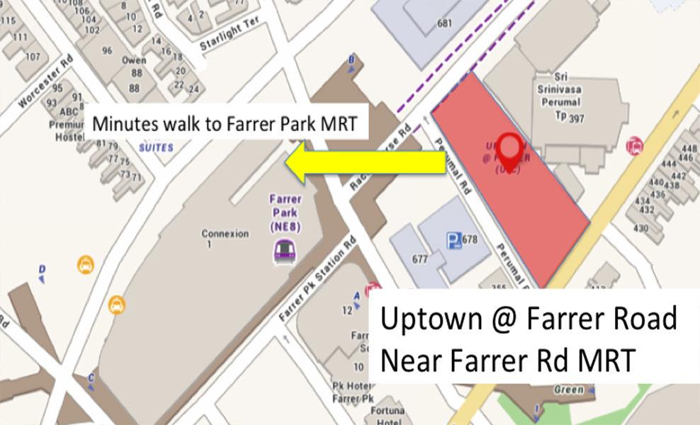Uptown Farrer Showflat | Showroom Hotline +65 61007122