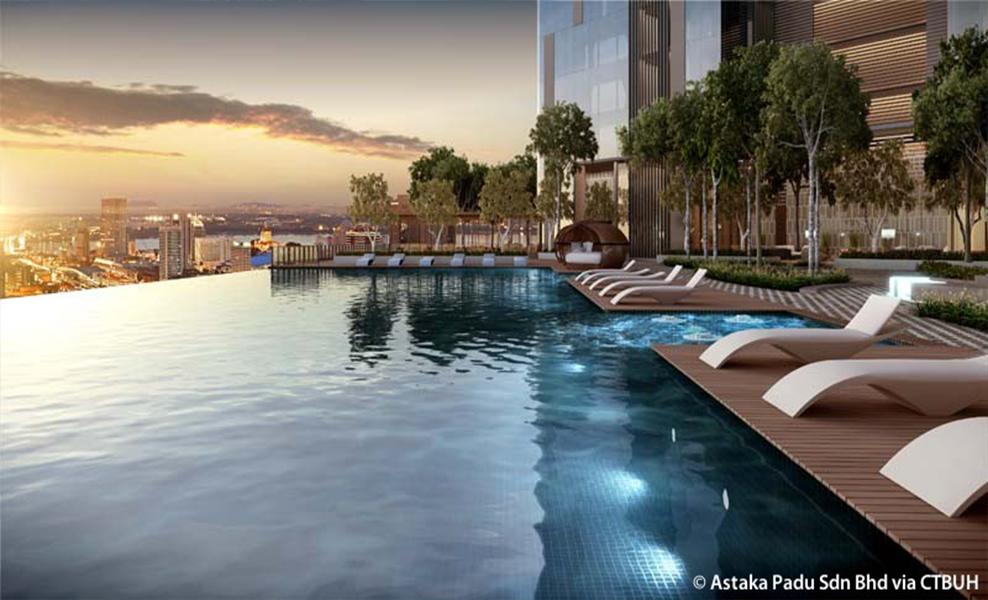 the astaka pool