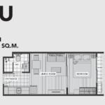 A Space Me Sukhumvit 77 floor plan 1 br