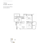 Coastline-Residences-1-bedroom-floor-plan