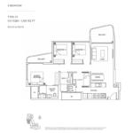 Coastline Residences 3-bedroom-floor-plan-type-C1