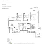 Coastline Residences 3-bedroom-floor-plan-type-C2