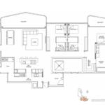 Coastline Residences 5-bedroom-penthouse-floor-plan