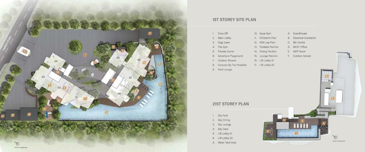 Coastline Residences site plan