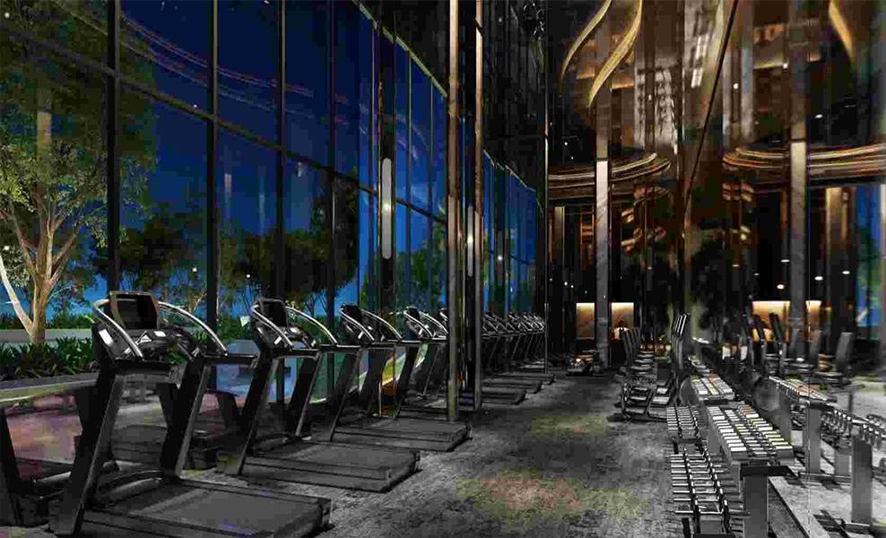 Ideo-Q-Phahol-Saphan-Kwai-Fitness-Room