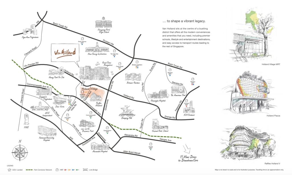 van holland location map