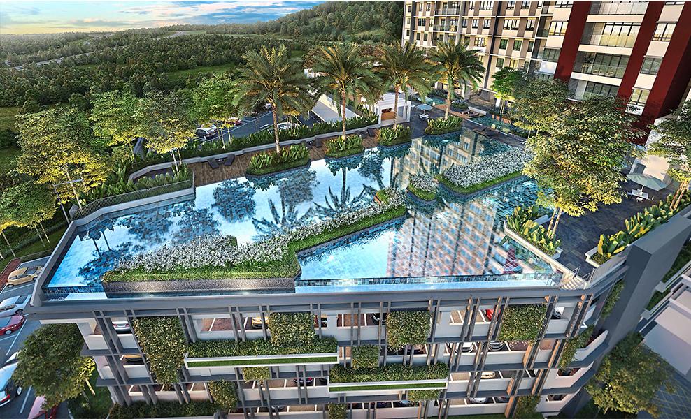 Seraya Residences top