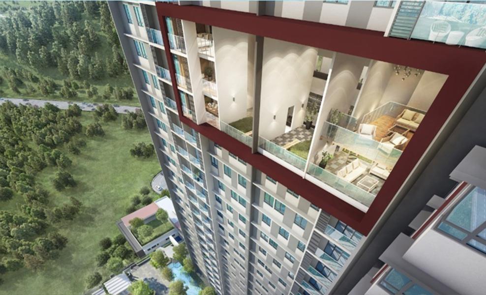 Seraya Residences view