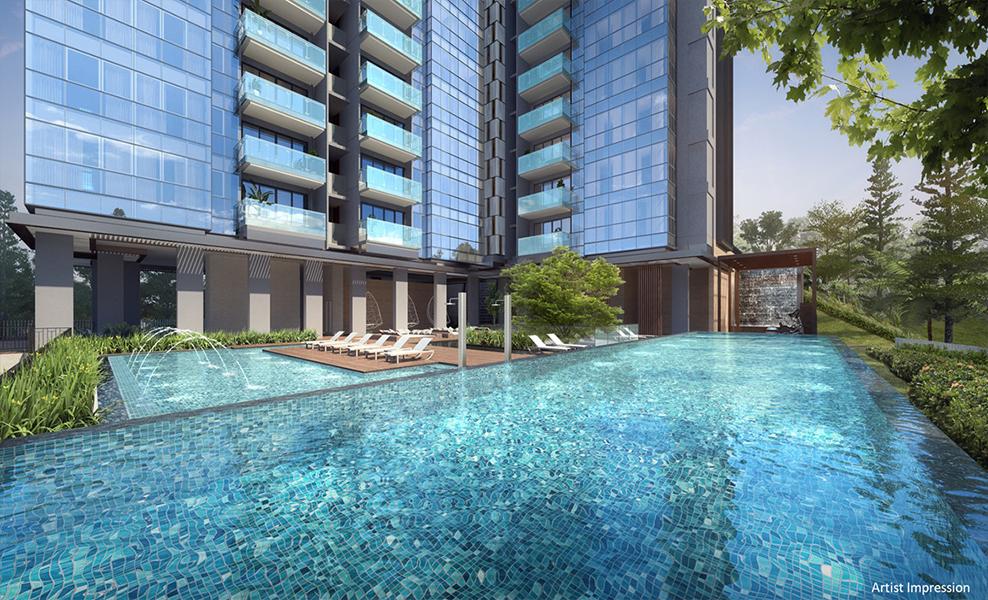 Wilshire Residences Condominium-Pool