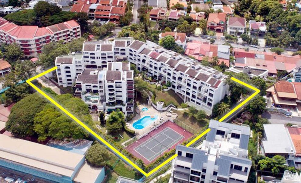 View at Kismis condo in Bukit Timah   Showflat Hotline +6561007122