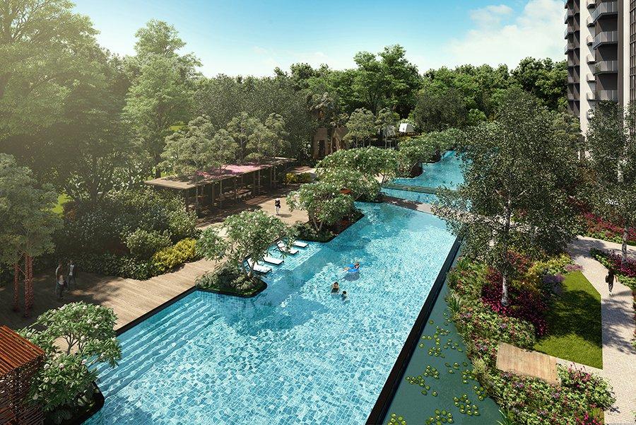 Former Duearn Garden Pool