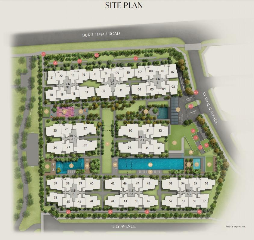 Royal Green Site-Plan