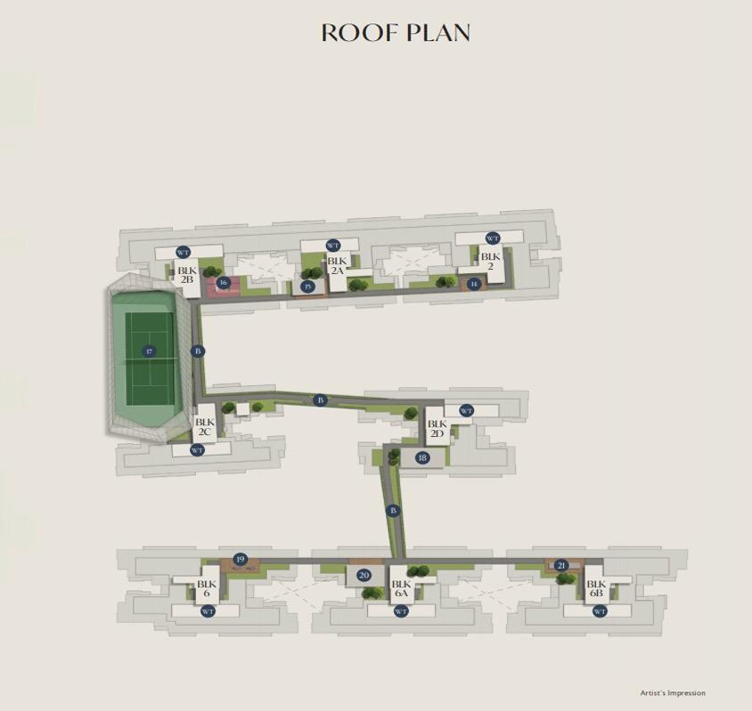 royal-ville-Site-Plan-Roof-Plan