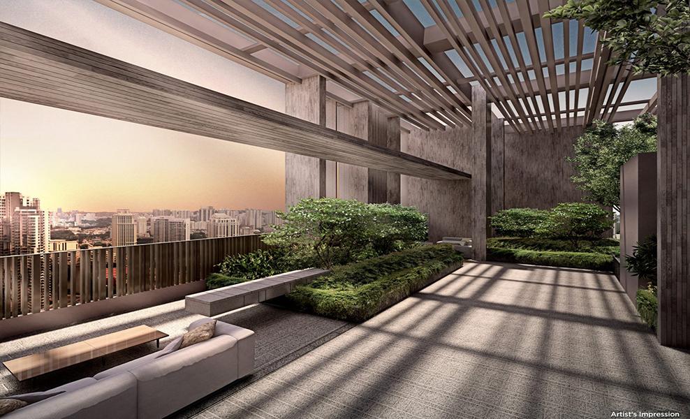The-Avenir-Condo-Roof-Garden-City-Skyline-View