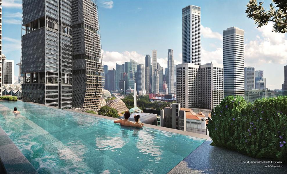 The-M-condo-pool