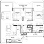 Peak-Residence-Official-3BedS-Floor-Plan-Type-C2-1088Sqft-Singapore