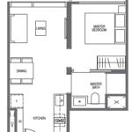 midtown-modern-floor-plan-1-bedroom-a1-singapore