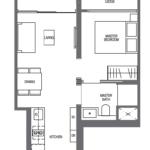 midtown-modern-floor-plan-1-bedroom-a2-singapore