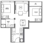 midtown-modern-floor-plan-2-bedroom-b1-singapore