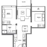 midtown-modern-floor-plan-2-bedroom-b2-singapore