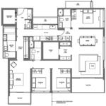 midtown-modern-floor-plan-4-bedroom-premium-d3-singapore