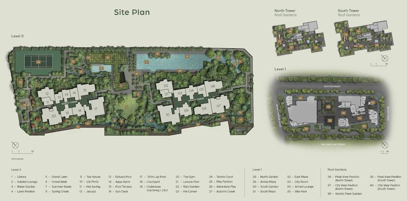 midtown-modern-site-plan-singapore