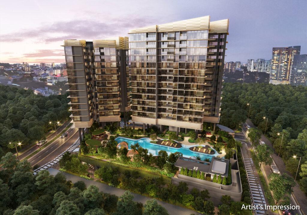 One-north-Eden-Singapore-Aerial-View