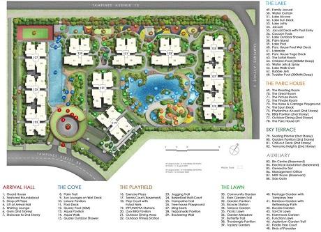Parc Central Residences Site Plan 101220