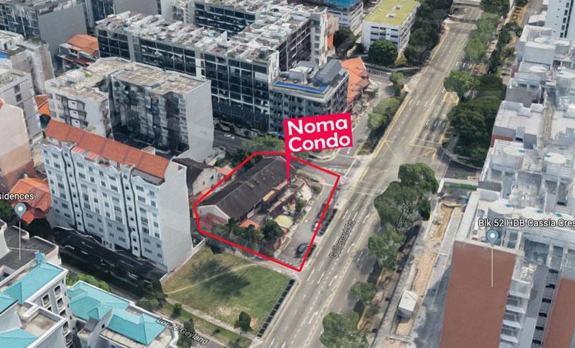 Noma-Condo facade