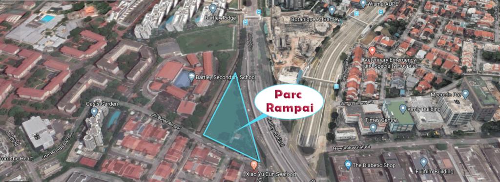 Parc Rampai location