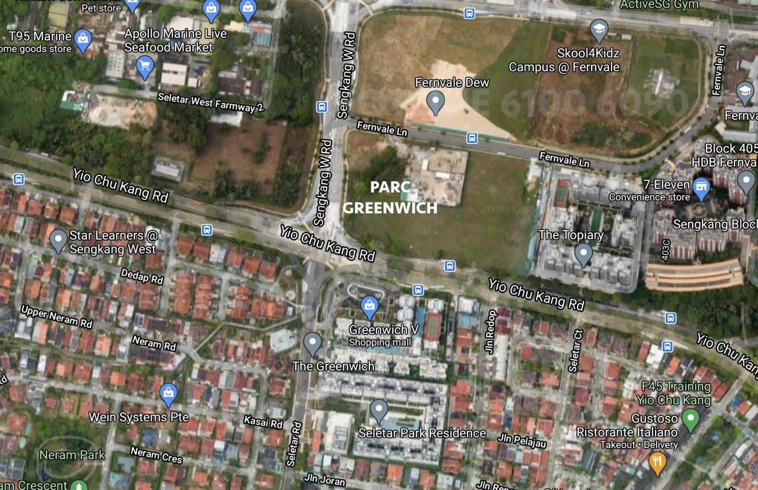 Parc-Greenwich-Location-Plan-Fernvale-Lane-1
